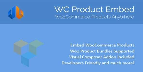 WooCommerce Product Embed