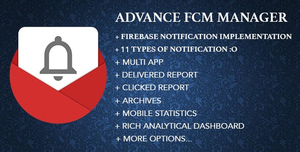 Advance FCM Manager / Advance Firebase Panel