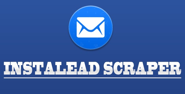 InstaLead - Instagram Email Scraper - CodeCanyon Item for Sale