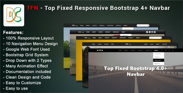 Bootstrap 4 HTML Plugins, Code & Scripts from CodeCanyon