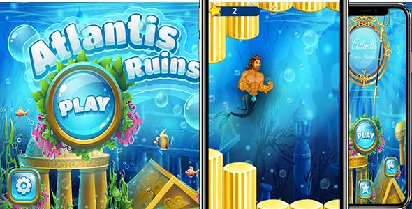 Atlantis Ruins ( New Game + AdMob + Easy to Reskin )