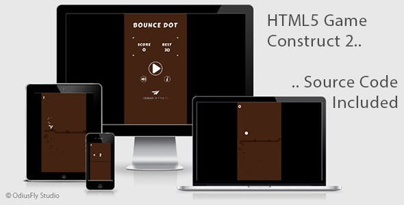 Bounce Dot - HTML5 Game (Construct 2)