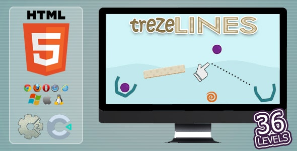 trezeLines - HTML5 Casual Game - CodeCanyon Item for Sale