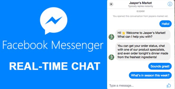 Facebook Messenger Customer Chat Plugin WordPress