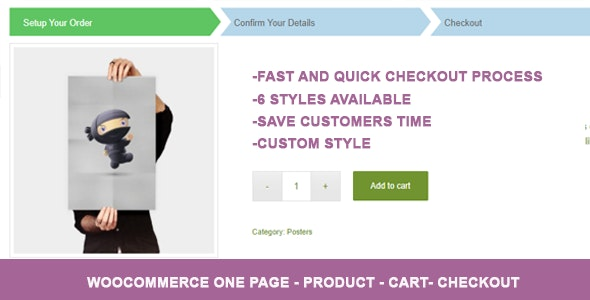 WooCommerce One Page (Product-Cart-Checkout) - CodeCanyon Item for Sale