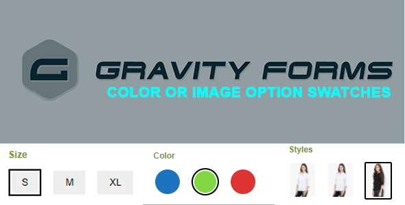 Gravity Forms Color or Image Option Swatches