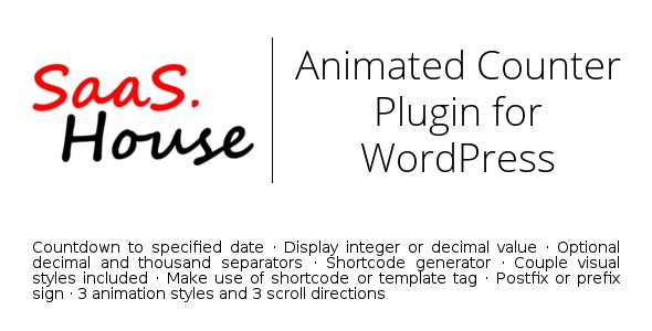 Animated Counter for WordPress - CodeCanyon Item for Sale