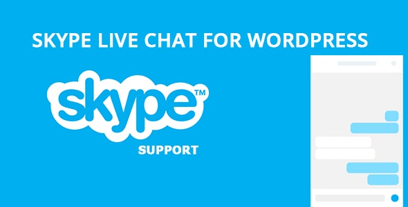 Skype Live Chat For WordPress - CodeCanyon Item for Sale