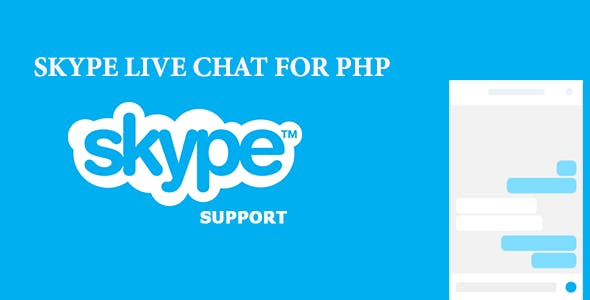 Skype Live Chat For PHP