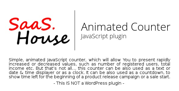 JavaScript Animated Counter - CodeCanyon Item for Sale
