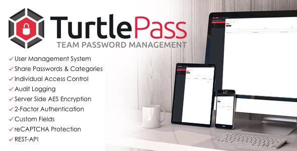 TurtlePass - Team Password Manager
