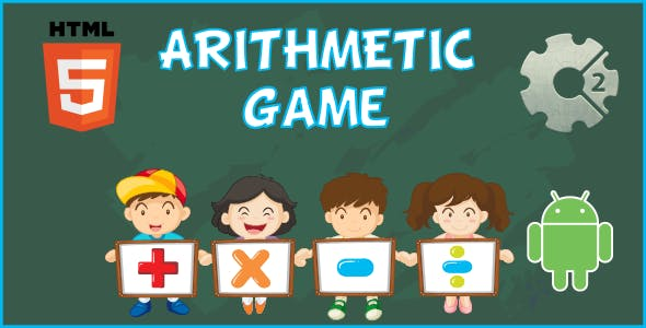 Arithmetic HTML5 Game  (CAPX)