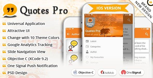 iOS Quotes Pro