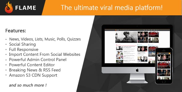 Flame - News, Viral Lists, Quizzes, Videos, Polls and Music