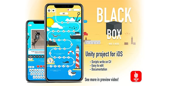 BLACK BOX - Unity game for iOS