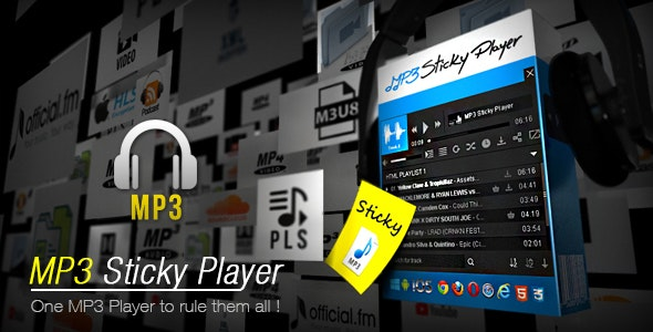MP3 Sticky Player by FWDesign | CodeCanyon