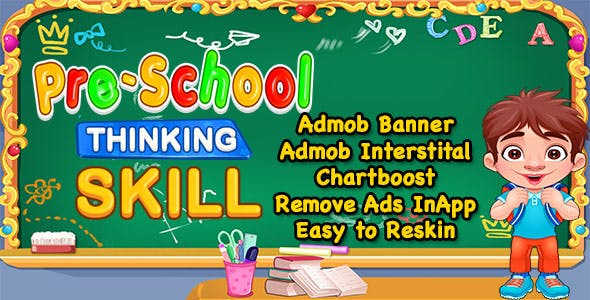 Pre School Thinking Game + Best Kids Education Game + IOS