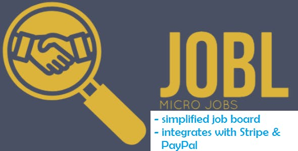 JOBL - Job-board for outsourcing projects