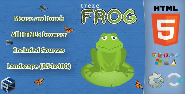 trezeFrog - HTML5 Casual Game
