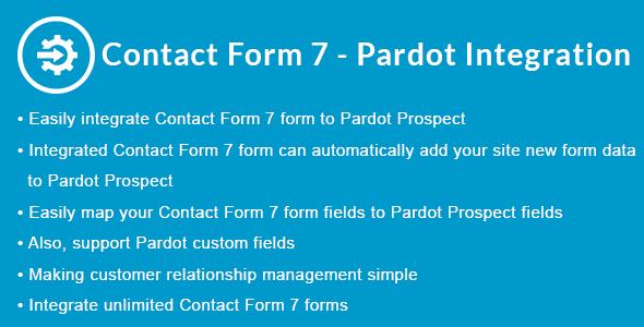 Contact Form 7 - Pardot Integration