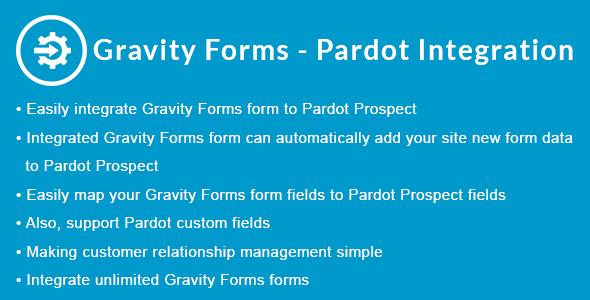 Gravity Forms - Pardot Integration