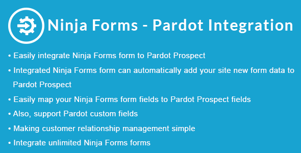 Ninja Forms - Pardot Integration