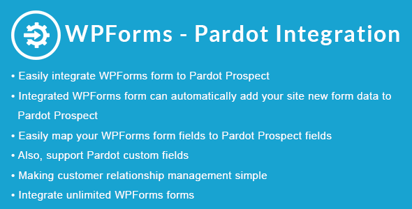 WPForms - Pardot Integration