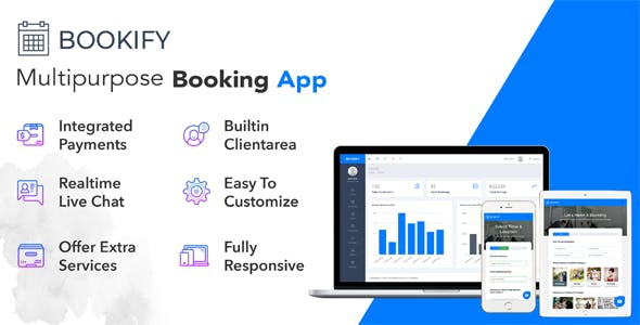 Bookify - Multipurpose Booking App - CodeCanyon Item for Sale