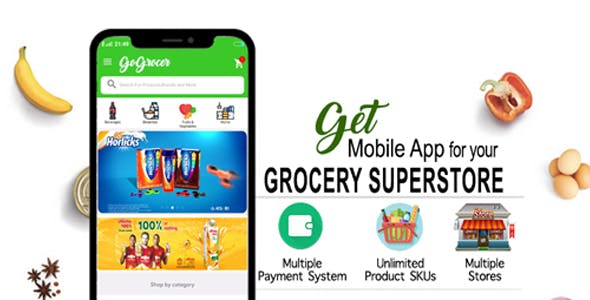 Grocery Store Android App - Take your Store to Mobile