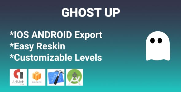 Ghost up - new challenging game