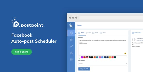 Facebook Auto Post & Scheduler - PostPoint Facebook - CodeCanyon Item for Sale