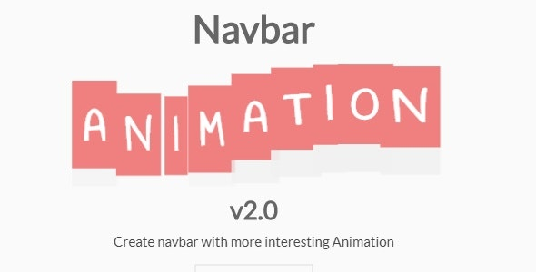 Navbar Animation v2.0 - CodeCanyon Item for Sale