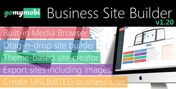 gomymobiBSB: Drag-n-Drop Business Webite Builder