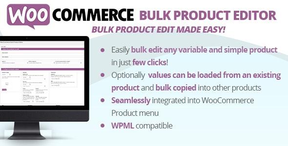 WooCommerce Bulk Product Editor - CodeCanyon Item for Sale