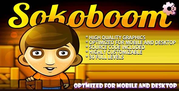Sokoboom - (C2 + C3) Puzzle Game