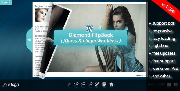 Flipbook WordPress Plugin Diamond        Nulled