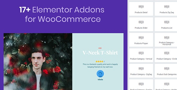 Mega WooCommerce Addons for Elementor by atlantisthemes