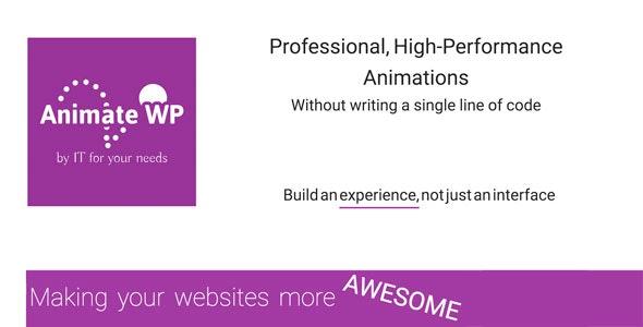 AnimateWP - CodeCanyon Item for Sale