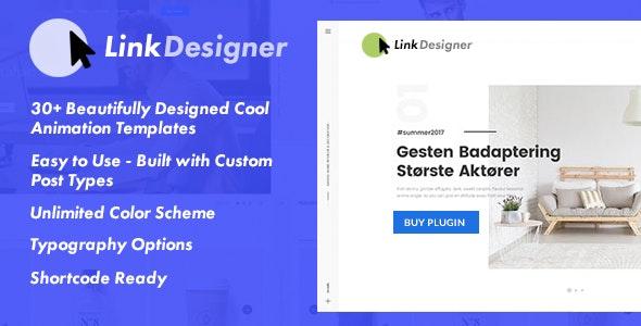 Link Designer - Easy Link Designer Plugin for WordPress - CodeCanyon Item for Sale