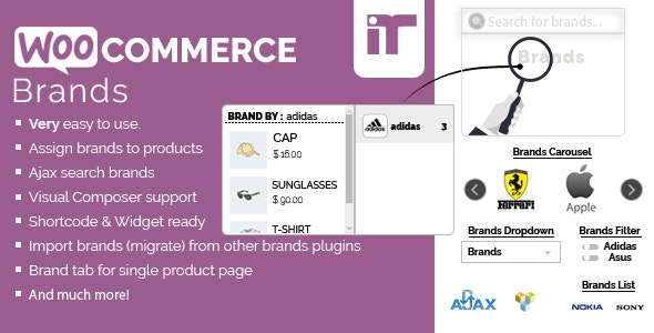 Woocommerce Brands - CodeCanyon Item for Sale