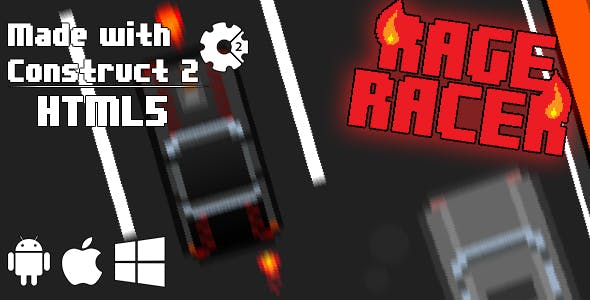 Rage Racer - HTML5 Game (CAPX)