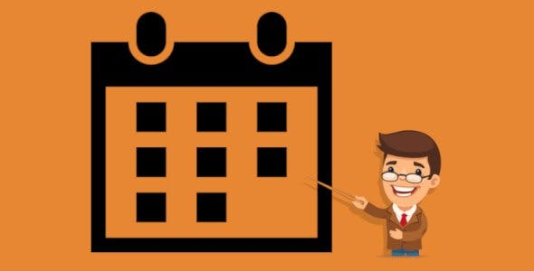Goo Calendar - plugin