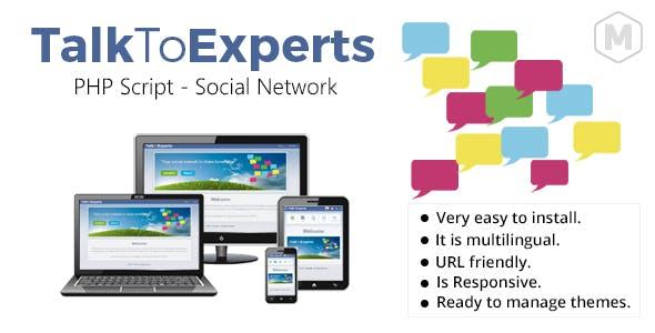 TalkToExperts - Social Platform to Share Knowledge