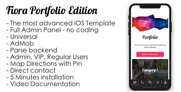 Fiora Portfolio iOS
