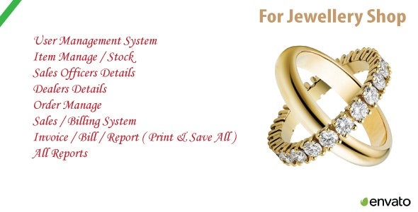 Jewellery Shop   Sales & Order Management System With Source Code - CodeCanyon Item for Sale
