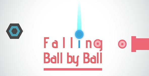 Falling Ball - Buildbox Game + Android Studio + Xcode