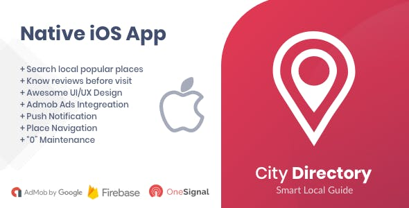 City Directory iOS Native App