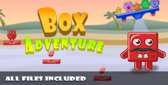 Box Adventure / (C2 + C3) Game Platform - CodeCanyon Item for Sale