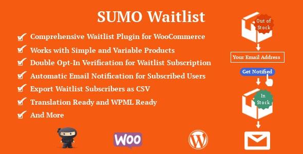 SUMO WooCommerce Waitlist - CodeCanyon Item for Sale