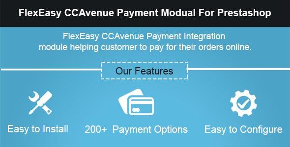 FlexEasy CCAvenue Payment Module for Prestashop